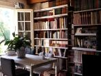 Partie commune : la bibliothèque