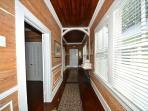 Long hallway floorplan