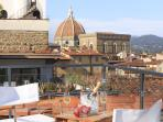 Roof Top Terraces with breathing views of all of Florence. Gorgeous sunsets.