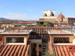Roof Top Terraces with breathing views of all of Florence, the Duomo, Palazzo Pitti, Pz Michelangelo