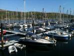 Port Bannatyne marina is just 5 minutes away