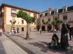 Plaza del Fontan donde el apartamentounto Apartamento