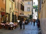 The charm of the ancient cobblestones