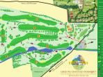Parcours golf 9 trous