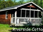 Riverside Cottage Exterior
