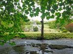 What a setting by the river Nevern. One of Experience-Môr's flagship properties and no wonder!