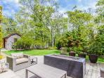 Expansive Deck Area with Propane Fire Pit