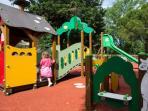 Le parc a jeux de la résidence