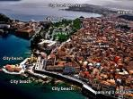 Old corfu town ( airpicture )