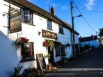 Local Gastro Pub, The Ashill Inn.