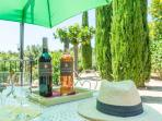 Delicieux vins Bandol AOC, à déguster sur la terrasse !
