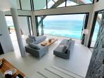 Living / lounge area - open-planned modern living