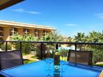 Enjoy wine on your terrace