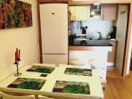 Área refeições e kitchenette