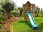 Childrens Park within the building area