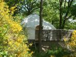 Escley Brook Yurt...Herefordshire/Welsh Border