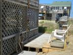Propane BBQ Grill and Hot/Cold outdoor shower