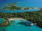 AMAZING LICHADONISIA (GREEK SEYCHELLES) 35 min. FROM NIOVI