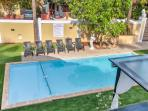 Villa in a large compounded area with a swimming pool for rent
