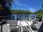 View Off the Deck at The Boathouse