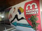 Entrance to the nearby indoor market