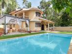 3 BHK villa with swimming pool for rent