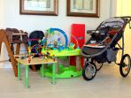 Villa By The Castle's Baby Equipment FREE for your use during your stay at our vacation rental