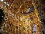 byzantine arabe normanna country monreale near palermo