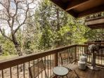 Your private deck with gas barbecue.