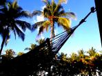 Hang just comfortable in your hammock and catch the sound of the sea and the birds singing