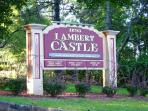 Lambert Castle 5 minutes by car from our vacation rental.