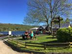 Coniston Lakeside and the Bluebird Cafe