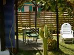 para leer en la tumbona o tomar el sol en nuestro jardin