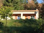 Bungalow in the Ardèche with swimmingpool