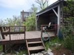 Deck at Folly Cove.