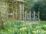 Spring at Dan y Derw