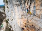 climbing area 4km far