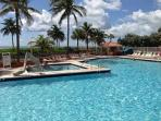 Full Ocean View SE Corner 1/1 with 1 King 2 Queen Sleepers  HEATED POOL 703