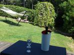 Hamaca jardin