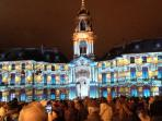 Rennes Christmas light spectacular
