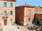 Roussillon main square