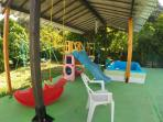 Play ground by the pool