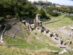 Volterra- Teatro Romano- E' possibile visitarlo.