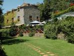 Casale principale  ' Casale del Gallo  'con ristorante e reception