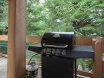 Walkout from Dining Room to BBQ and Private Hot Tub on the Deck