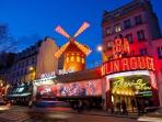Le Moulin Rouge and Pigalle