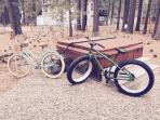 2 of the 4  bikes for your use!