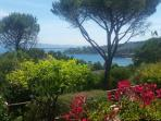 giardino e vista mare