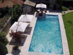 La Grande piscine chauffée