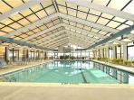Olympic size indoor heated pool